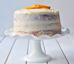 Orange Cake Modern Honey
