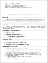 Draftsman Resume Samples Draftsman Resume Sample Famous Template Gallery Architectural For