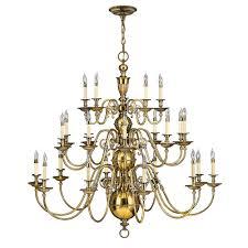 cambridge 3 tier 25 light chandelier by hinkley lighting