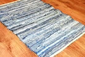 denim rag woven rug denim rag rug photo 6 of denim rag rug good ideas 6