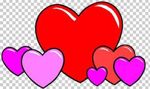 love heart cartoon drawing png clipart