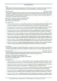director of finance resume finance manager resume districte15 info