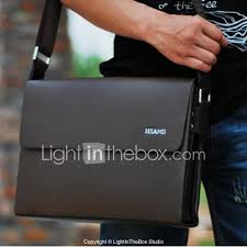 Light In The Box Handbags Men Bags All Seasons Cowhide Shoulder Bag With For Casual