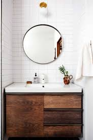 Mirror Prominent Contemporary Round Bathroom Mirrors Momentous