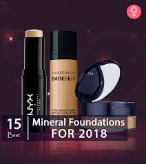15 best mineral foundations for 2018