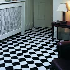 Non Slip Vinyl Flooring Kitchen Rhino Champion Pisa Black White Vinyl Flooring Interiors