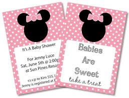mickey and minnie invitation templates invitation for baby shower charming free printable minnie mouse