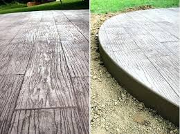 stamped concrete cost wood stamped concrete stamped concrete patio cost per square foot