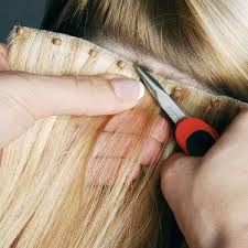bead weft hair extensions no heat