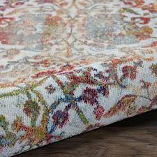country runner rugs rugs global vintage white and orange french country runner area rug latest bedding