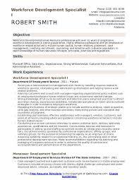Training Specialist Resume Workforce Development Specialist Resume Samples Qwikresume