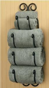 bath towel holder. Simple Holder Scroll Bath Towel Holder Intended O