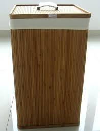 wooden clothes hamper modern solid bamboo hampers with lids design laundry a simple look or room lid