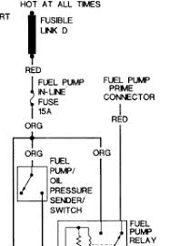 solved 1994 old cutlass ciera 3 1 v 6 no power at fuel fixya ok do you know where the 15 amp fuse is check for power at the fuse if no power check continuity of the fusible link normally the fuse will blow rather