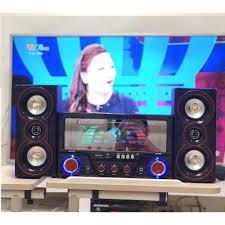 Dàn Âm Thanh Đa năng - Loa Vi Tính Hát Karaoke Có Kết Nối Bluetooth USB  SKYNEW - SKN395 - 2 micro - Dàn âm thanh Nhãn hàng ISKY