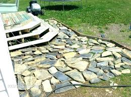 how to install flagstone patio typical cost