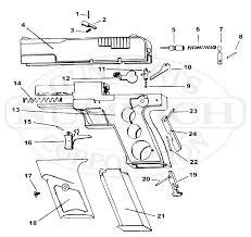 js 9mm schematic numrich 9mm Pistol Parts stallard arms js 9mm 9mm pistol parts