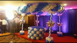 Best Cake Table Decoration For Birthday Party By Blue N White
