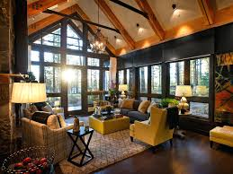cabin style decor rustic living room decorating ideas rooms design  different of unique decorations