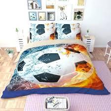 soccer comforter set awesome football crib bedding sets boy girl bedspread polyester authentic barcelona