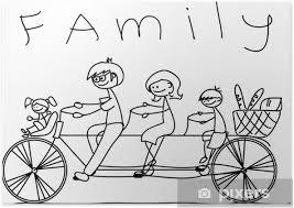 Afbeeldingsresultaat voor gezin tekening