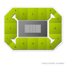 Covelli Center Seating Chart Ohio State Cornell Big Red At Ohio State Buckeyes Wrestling Tickets