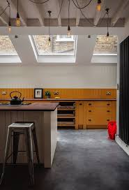 Modern Asian Kitchen Kitchen Floor Bamboo Curtain Blinds Modern Asian Kitchen Concrete