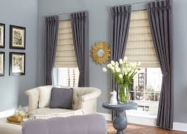 budget blinds neutral woven wood shades