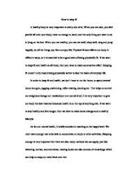 essay how to stay healthy toefl essays essays how to stay healthy