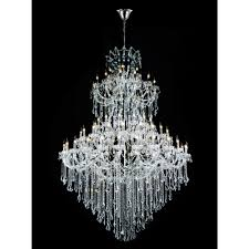 cwi lighting maria theresa 84 light chrome chandelier