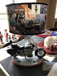 harley davidson table lamp with model motorcycle for in north augusta sc offerup