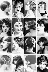 1920s Vintage Hair Styles Ilona Retro účesy Vlasy A účesy