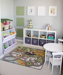play room furniture. love this small playroom idea we have most of these items already play room furniture