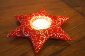 Anleitung Teelicht Stern Bzw Kerzenring Nähen