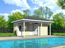 garage pool house pool house plan with equipment storage rv garage pool house plans