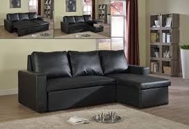 black sectional sofas. Brilliant Black Sectional Sofa Bed U2013 Black Bonded Leather 74900 Throughout Sofas I