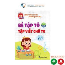 Sách - Bé tập tô, viết chữ to cho bé từ 4-6 tuổi tại Hà Nội