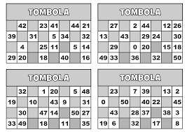 Classe Seconda Matematica Gioco Della Tombola Entro Il 50