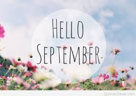 cute hello september wallpaper quote