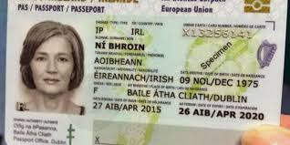 The Passport To Agreed Another Irish Newstalk Card Country Has Take