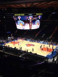 Knicks Stadium Seating Chart Madison Square Garden Section 227 Row 11 Seat 10 New