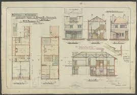 architecture buildings drawings. SLV Architectural Drawings Collection Architecture Buildings