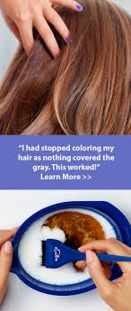Simple Solution For Coloring Gray Hair