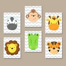 best zoo baby nursery decor products on animal jungle wall art nursery canvas zoo artwork child on nursery canvas wall art canada with best zoo baby nursery decor products on animal jungle wall art