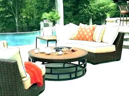 rounded patio cushions round couch r outdoor seating built tables furniture sectional curved area couc curved outdoor seating