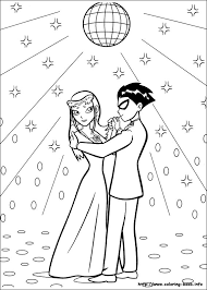 Small Picture Teen Titans coloring pages on Coloring Bookinfo
