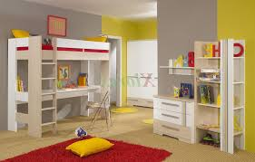 kids loft bed with desk. Bedroom Kids Bunk Beds With Desk Ikea Loft For Pink Bed Sheet White Stairs S