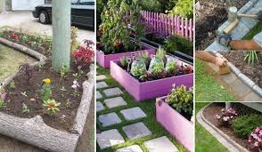 garden edgers. Garden-Bed-Edging-Ideas-Woohome-0 Garden Edgers