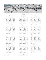Calendario In Pdf Del 2019