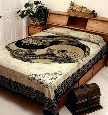 dragon bed sets throws wall hangings pillow tops collection brush creek wool works dragon ball z dragon bed sets
